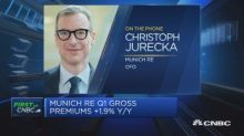 Munich Re CFO: Confident we'll achieve end-of-year growth targets