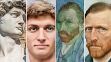 Artist recreates lifelike AI renderings of famous historical figures and monuments