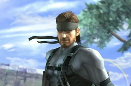 Thank Kojima's son for getting Snake into Smash Bros. Brawl