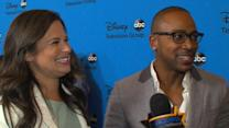 Katie Lowes And Columbus Short Explain The 'Scandal' 'Body Roll'