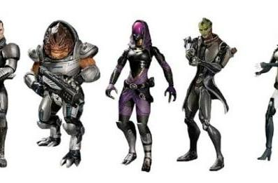 Mass Effect action figures include ME3 DLC