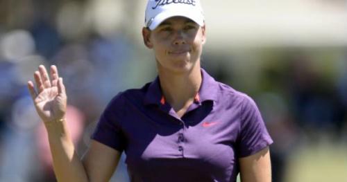 Golf - Evian - Evian Championship : Karine Icher sur le pont