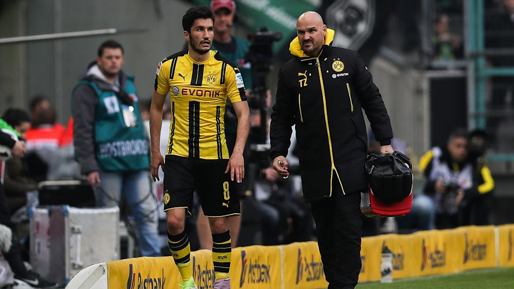 Dortmunds Sahin fällt mit Sprunggelenksverletzung aus