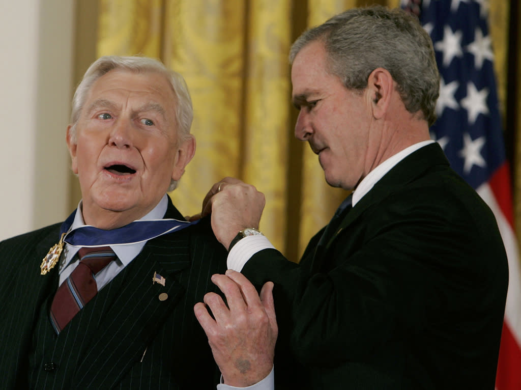 Bush Honors Presidential Medal Of Freedom RecipientsAndy Griffith, 1926-2012: Five Surprising Facts
