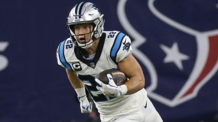 Panthers' Christian McCaffrey suffers hamstring injury