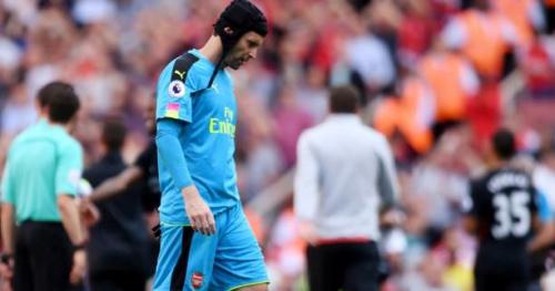 Foot - ANG - Arsenal - Arsenal : Petr Cech blessé et remplacé par David Ospina face à West Bromwich Albion