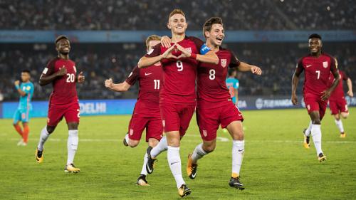 U17 World Cup LIVE: USA vs Colombia