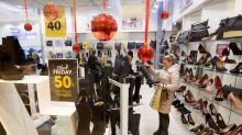 A record 174 million Americans shopped this Thanksgiving weekend