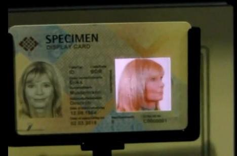 Video: Samsung's e-passport turns your head into a rotating government specimen