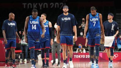 Basquete masculino dos EUA perde para a França em primeiro revés olímpico desde 2004
