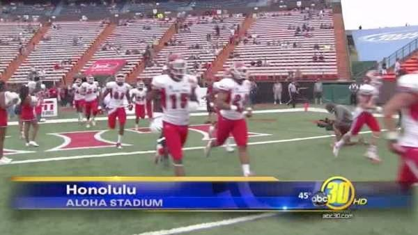 Fresno State loses to SMU 43-10 in Hawaii