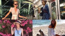 明星去旅行著乜?6位女星旅行最愛的渡假打扮