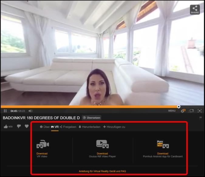 Pornhub streamt jetzt VR-Vidoes