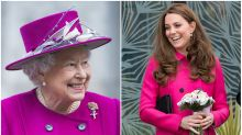 Did the Queen take a style cue from Kate Middleton?