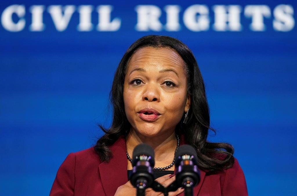Biden's civil rights candidate must explain to a GOP senator that an article she wrote was a satire