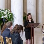 Memorial service led by rabbi married to Ruth Bader Ginsburg's former clerk