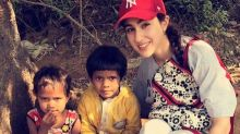 Sara Ali Khan relives her childhood as she plays with kids