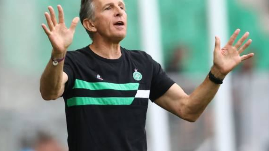 Foot - L1 - ASSE - Claude Puel (Saint-Étienne): «Globalement, c'était pas mal» contre Clermont