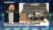 13 Novembre: Trois ans après, où en est la menace terroriste?