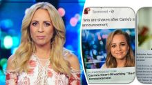 Carrie Bickmore caught up in skincare scam