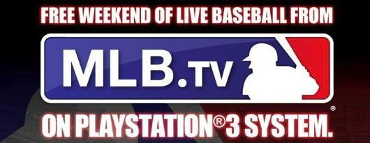 MLB.TV free for Father's Day weekend on PS3