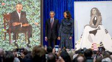 Barack Obama ist noch immer verrückt nach Michelle – und seine Reaktion auf ihr offizielles Porträt ist der Beweis dafür