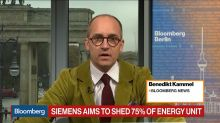 Siemens Aims to Shed 75% of Energy Unit