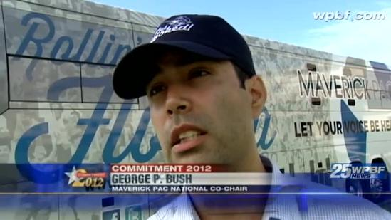 George P. Bush visits Palm Beach Atlantic University