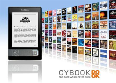 Bookeen set to release new Cybook E-Ink reader