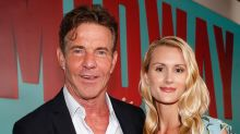 Dennis Quaid, 66, on 39-year age gap with wife Laura Savoie, 27