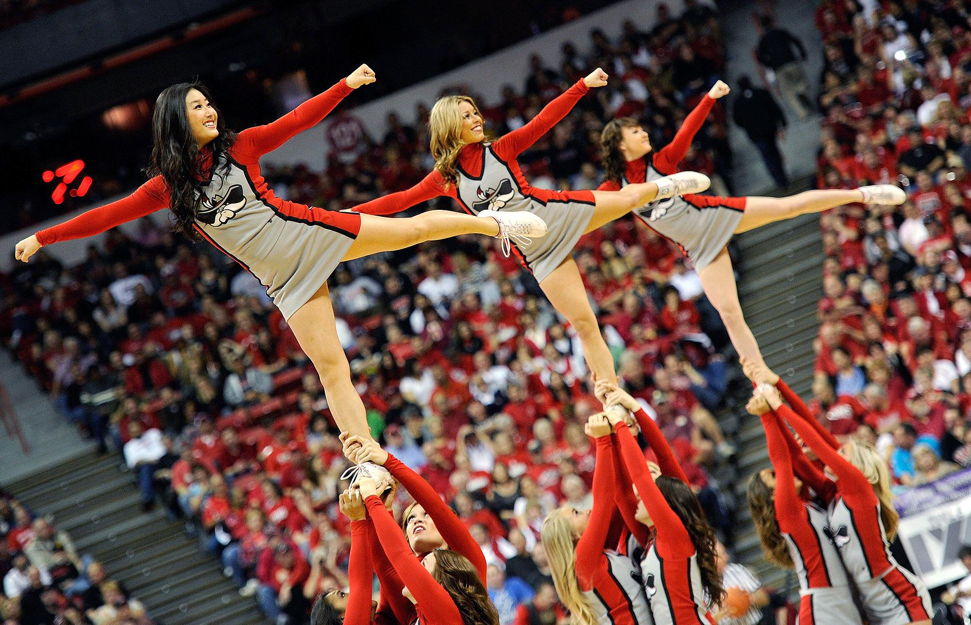 how cheerleading is a sport
