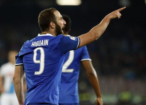 Un doublé d'Higuain, mais une victoire de Naples pour l'honneur