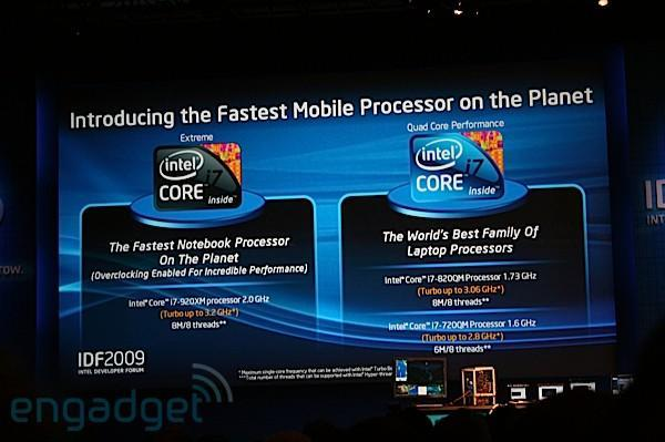 Intel announces quad-core Core i7 Extreme and Core i7 for laptops (update: now with reviews!)