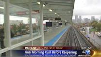 Last weekday commute without CTA Red Line's South Branch, which reopens Sunday