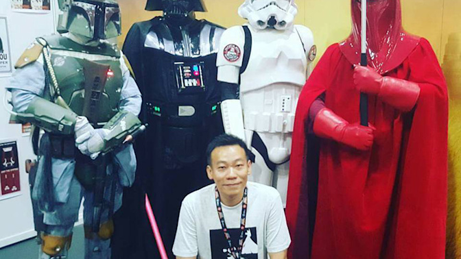 Mansells Star Wars collection to keep late wife's belongings
