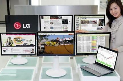 LG's Flatron LX206WU joins the multiple USB display party