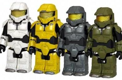 Another series of colorful Halo 3 Kubricks