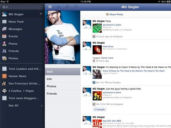 Facebook just released a dedicated iPad app, except it didn't
