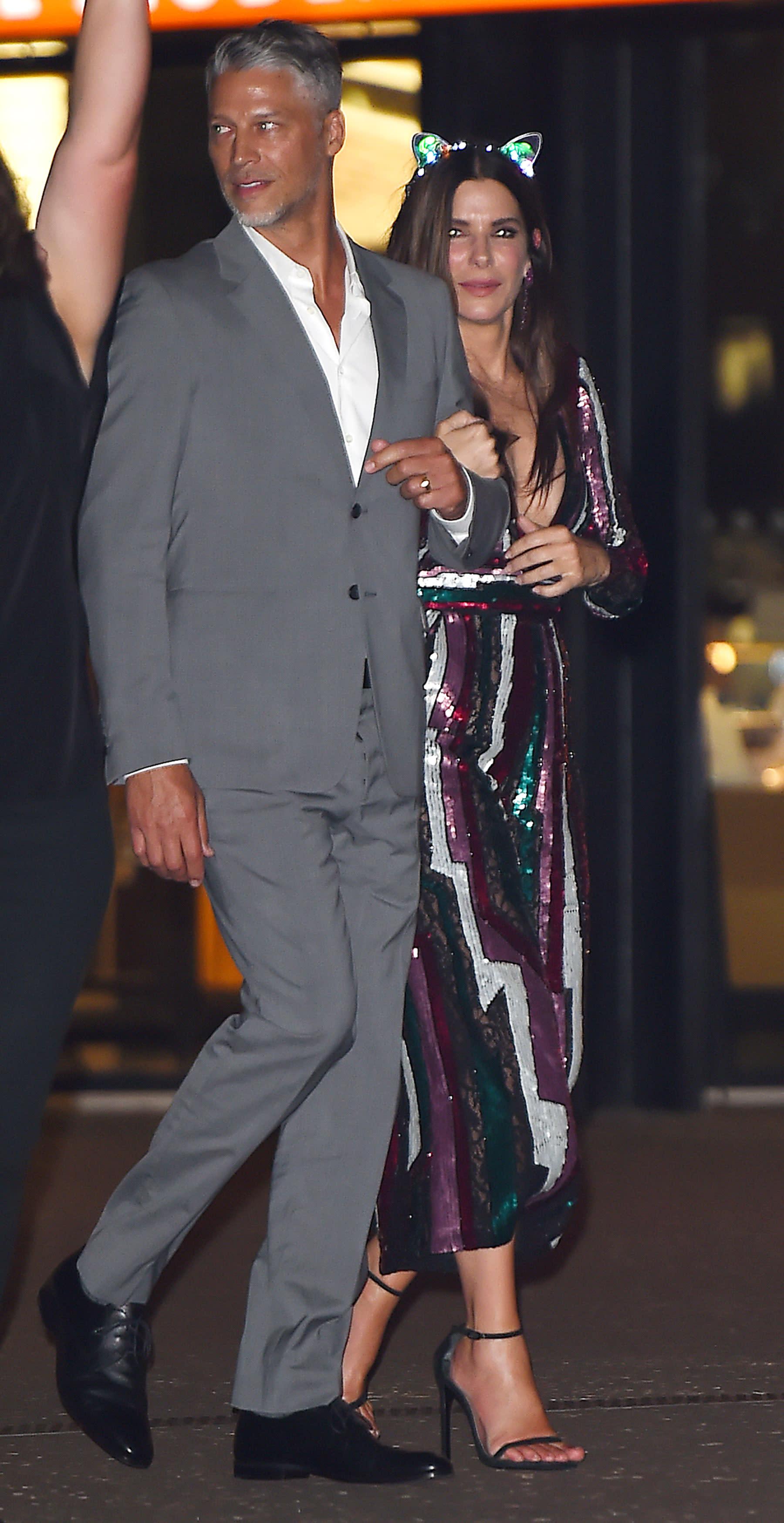 Sandra bullock son is Sandra Bullock's