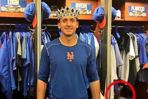 The original photo tweeted by the Mets. (Mets on Twitter)
