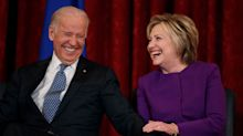 Clinton's book hits back at — of all people — Joe Biden
