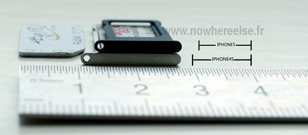The next iPhone's nano-SIM cradle allegedly leaked