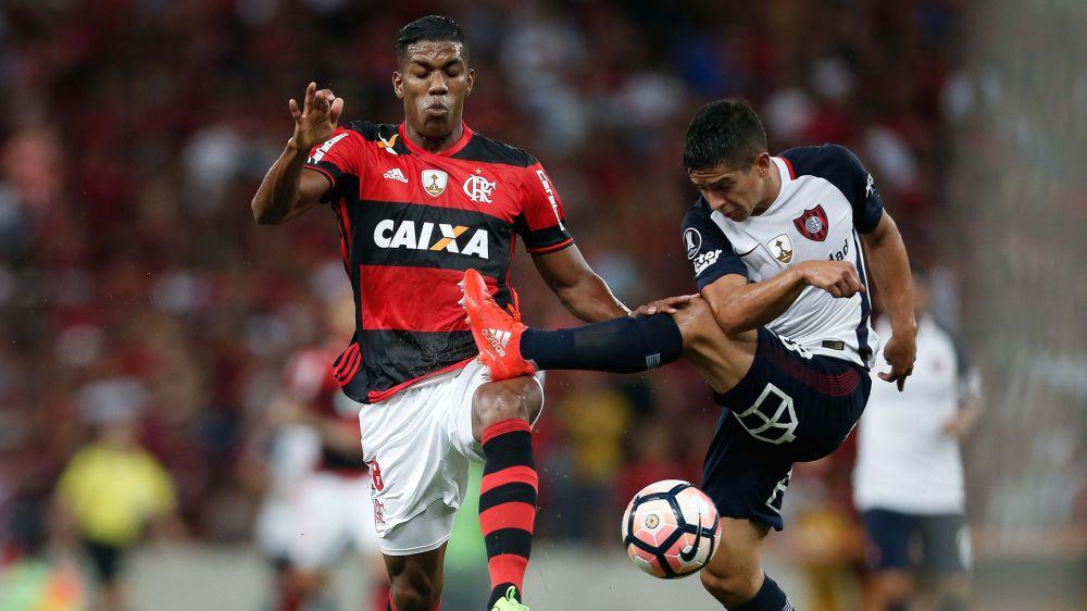 Orlando Berrio Flamengo San Lorenzo Libertadores 08032017