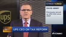 UPS CEO: Overall we want 20% corporate tax rate
