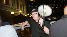 Mark Ruffalo, Michael Moore, and Olivia Wilde Protest Heather Heyer's Death at Trump Tower: 'We Want Him To Hear Us'