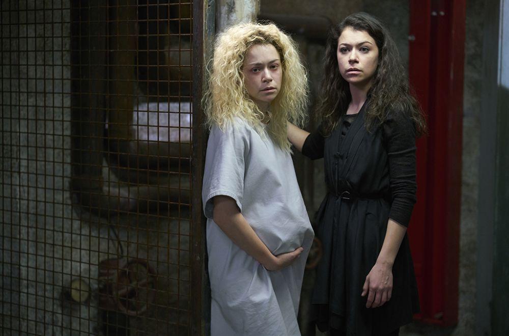 Helena (Tatiana Maslany) and Sarah (Tatiana Maslany). (Photo: KenWoroner/BBC America)