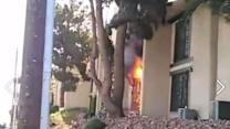 10 Displaced by Las Vegas Apartment Fire