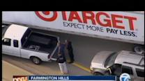 Target truck aides in police chase
