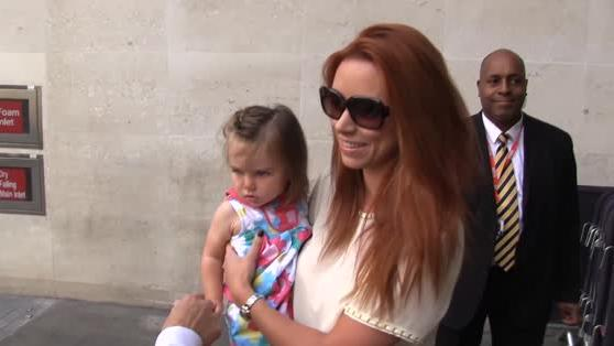 The Saturdays Wow With Their 'Mini-Sat' Daughters in London