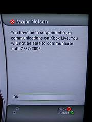 Major Nelson banned from XBL